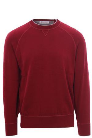 Cotton crew neck BRUNELLO CUCINELLI | -161048383 | M2909258CR434