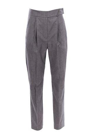 Pantaloni in lino con pinces BRUNELLO CUCINELLI | 5032272 | MF509P7599C2671