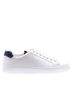 Sneakers boland plus 2 calf+suede white+astral