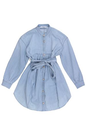 Denim dress with belt DONDUP | 5032276 | DFAB1270164WD0189001