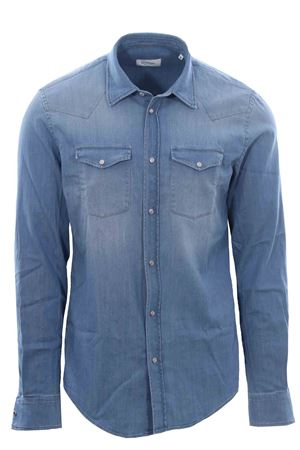 Camicia texana in denim DONDUP | 5032279 | UC220DS0259BE3800