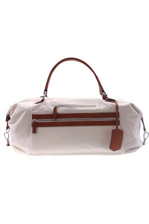 Leather and cotton travel bag ELEVENTY | 5032281 | A72BORA02TES0A11301