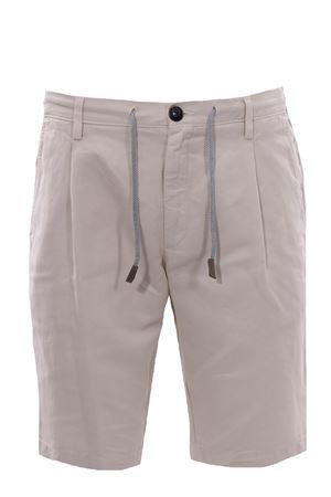 Cotton and linen jogger shorts ELEVENTY | 30 | C70BERC01TET0C02902