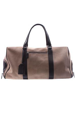 Suede and leather travel bag ELEVENTY | 5032281 | C72BORC04PEL0C00702
