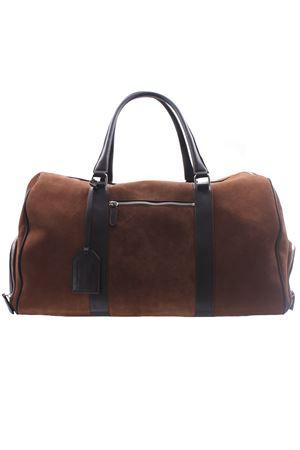 Suede and leather travel bag ELEVENTY | 5032281 | C72BORC04PEL0C00705