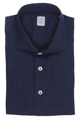 Camicia dandy in lino ELEVENTY   5032279   C75CAMC08TES0C03211