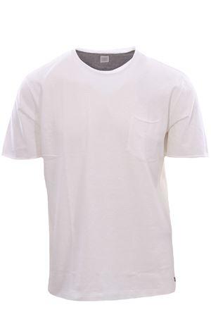 T-shirt in cotone taglio vivo ELEVENTY   8   C75TSHC07TES0C16901