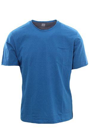 T-shirt in cotone taglio vivo ELEVENTY   8   C75TSHC07TES0C16908