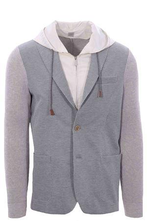 Bimateric jacket with bib ELEVENTY | 5032284 | C76GIAC05TES0C16713