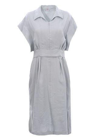 Linen dress with belt ELEVENTY   5032276   C80ABIC11TES0C19768