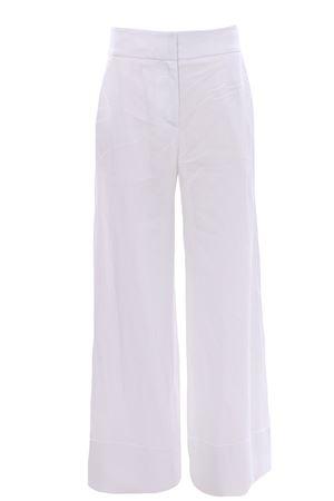 Pantaloni in lino con risvolto ELEVENTY | 5032272 | C80PANA05TES0C19701