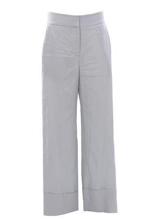 Pantaloni in lino con risvolto ELEVENTY | 5032272 | C80PANA05TES0C19768
