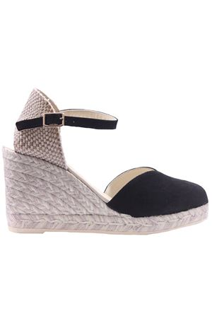 Leather and suede sandals ESPADRILLES | 5032293 | CLOESILKNEGRO