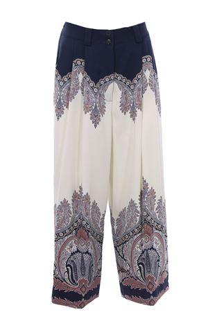 Pants with paisley print ETRO | 5032272 | 140979404200