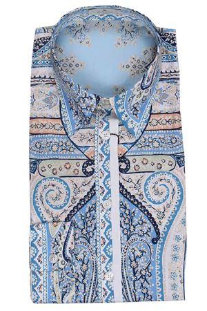 Camicia sciancrata con motivi paisley stampati ETRO | 5032279 | 143014393250