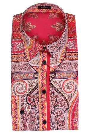 Camicia sciancrata con motivi paisley stampati ETRO | 5032279 | 143014393600