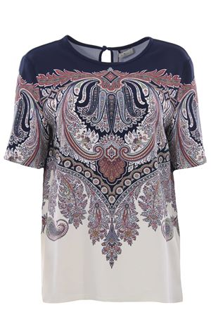 T-shirt with paisley print ETRO | 8 | 143819412200