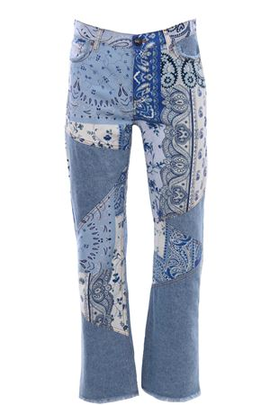 Ibiza jeans with patchwork print ETRO | 24 | 144519459201