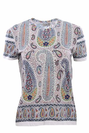 T-shirt with paisley print ETRO | 8 | 145149470200