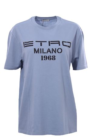 Over t-shirt with logo ETRO | 8 | 145179468250