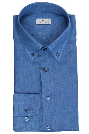 Regular linen shirt ETRO | 5032279 | 163656102200