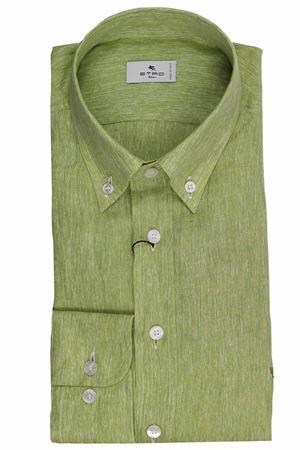 Regular linen shirt ETRO | 5032279 | 163656102500