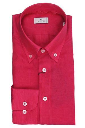 Regular linen shirt ETRO | 5032279 | 163656102600