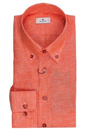 Regular linen shirt ETRO | 5032279 | 163656102750