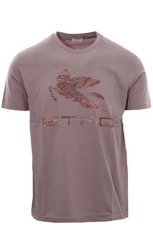 T-shirt with pegasus print ETRO | 8 | 1Y0209858800