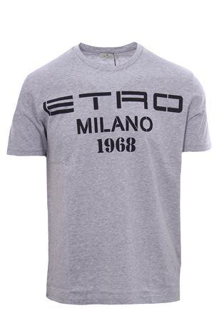 T-shirt with etro print 1968 ETRO | 8 | 1Y02098683