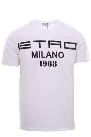 T-shirt stampa etro1968 ETRO | 8 | 1Y0209868990