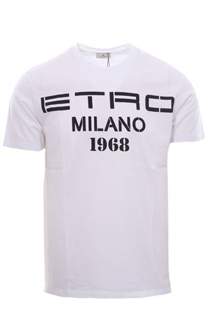 T-shirt with etro print 1968 ETRO | 8 | 1Y0209868990