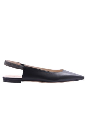 Leather ballerinas