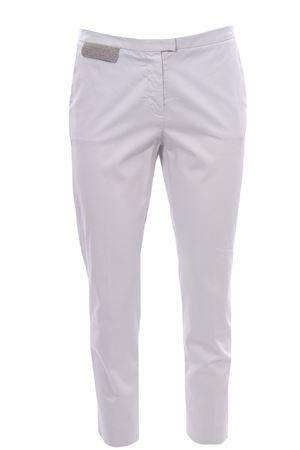 Pantaloni in cotone con taschino FABIANA FILIPPI | 5032272 | PAD271W350F2868159