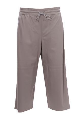 Pantaloni in pelle con coulisse FABIANA FILIPPI | 5032272 | PLD271W275F2638154