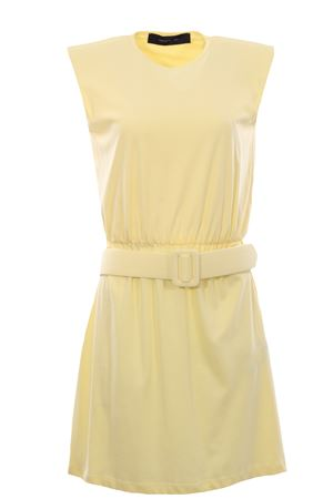 Cotton dress with belt FEDERICA TOSI | 5032276 | FTE21AB0040JE00810037