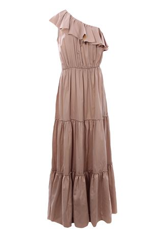 Cotton and silk long dress FEDERICA TOSI | 5032276 | FTE21AB1720PP00380006
