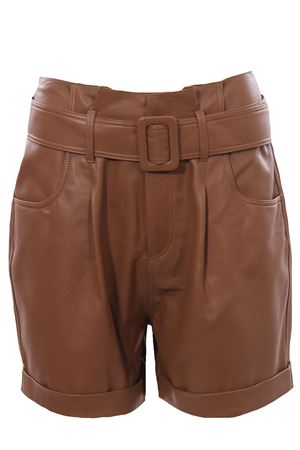 Leather shorts FEDERICA TOSI | 30 | FTE21SH0180VPELLE0013