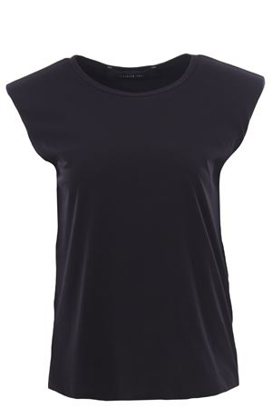 Cotton t-shirt with shoulder pads FEDERICA TOSI | 8 | FTE21TS003OJE00810002