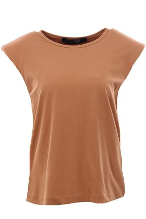 Cotton t-shirt with shoulder pads FEDERICA TOSI | 8 | FTE21TS003OJE00810006
