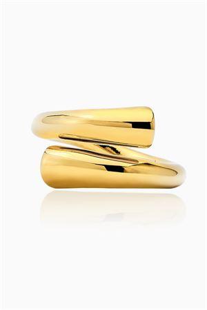 Ring tube gold FEDERICA TOSI | 5032280 | RINGTUBEGOLD