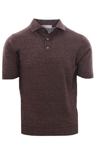 Linen and cotton polo FILIPPO DE LAURENTIS | -161048383 | PL11MCPARLC14R290