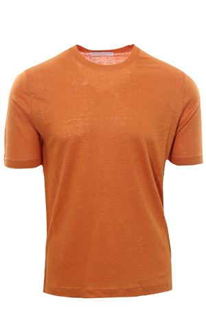 Linen t-shirt FILIPPO DE LAURENTIS | 8 | TSMCJERLIN240