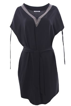 Midi skirt with studs FISICO | 5032276 | FV81CXBLACK