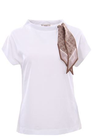 Cotton t-shirt with foulard HERNO | 8 | JG0015D520031430