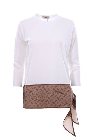 T-shirt in cotone foulard HERNO | 8 | JG0016D520031000