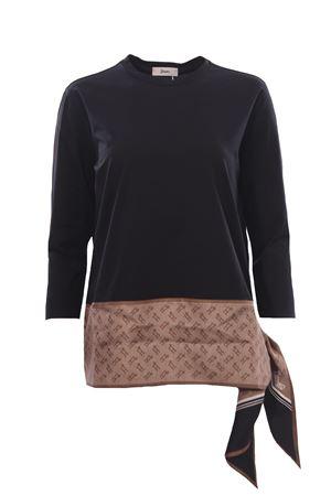 T-shirt in cotone foulard HERNO | 8 | JG0016D520039300