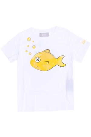 T-shirt in cotone pesce HERNO | 8 | JTS001K520131030