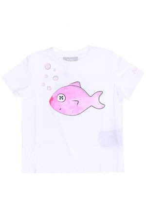 T-shirt in cotone pesce HERNO | 8 | JTS001K520131040