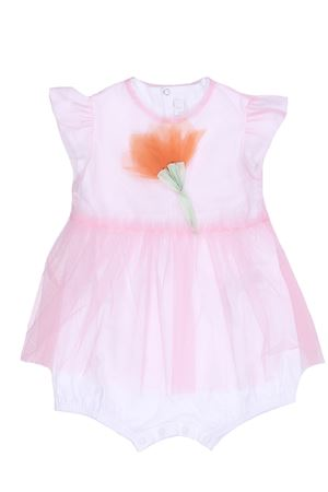 Tulle romper with flower IL GUFO | 5032303 | T0240H00183127